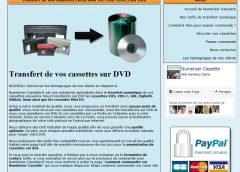 Conversion de vos cassettes sur DVD