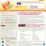 Accompagnement à la certification OEA, la méthodologie Kilean